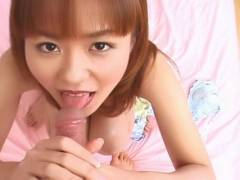 Sexy Ai Nanase cunt eaten out and hot oral sex!
