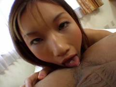 Maria Fujisawa tongues butthole and tongues phallus