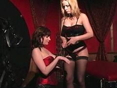 Hot Lesbian BDSM