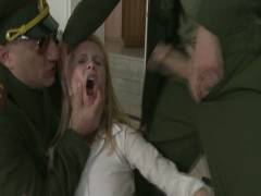 Bound Gang bangs: Daddy's Girl: 19 Year Old Russian Cutie's House Is Invaded By Officers