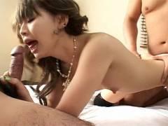 Yuu Kawano Has A Mouthful Of Wiener